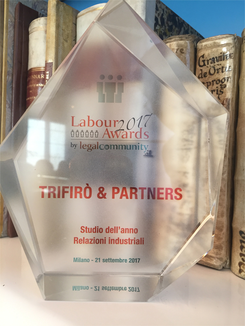 Labour Awards 2017 legal community