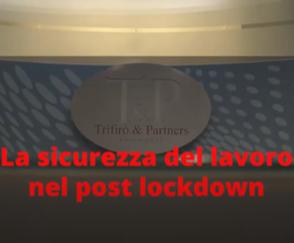sicurezza lavoro post lockdown
